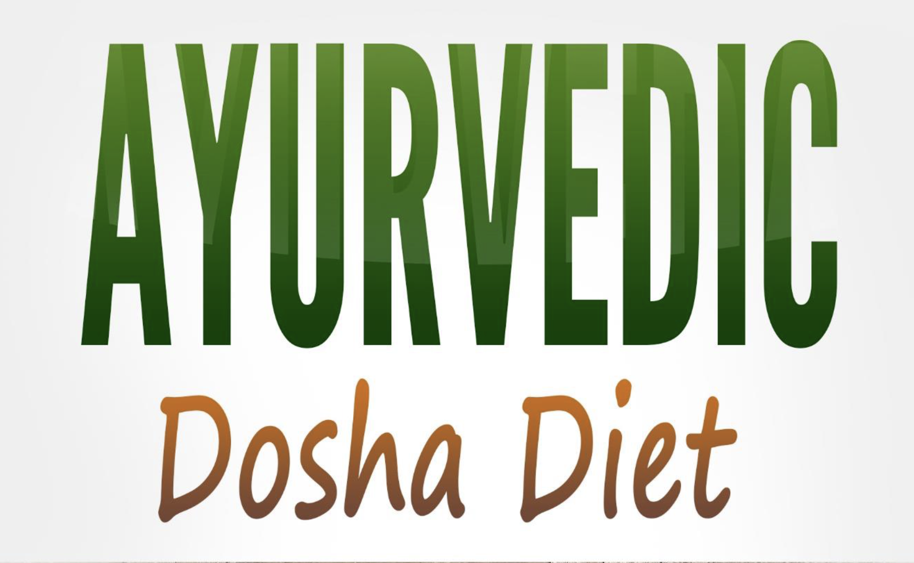 Are You Eating For Your Dosha