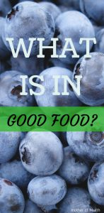 what is in good food