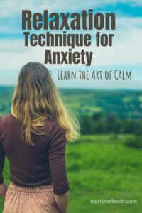 relaxation technique for anxiety