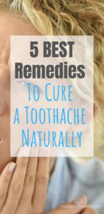 cure a toothache naturally