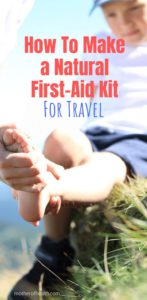 how to make a first aid kit for travel