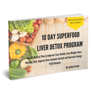 Superfood Liver Detox Program 3D cover