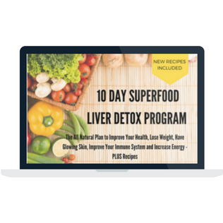 Superfood Liver Detox Cleanse Laptop Screen