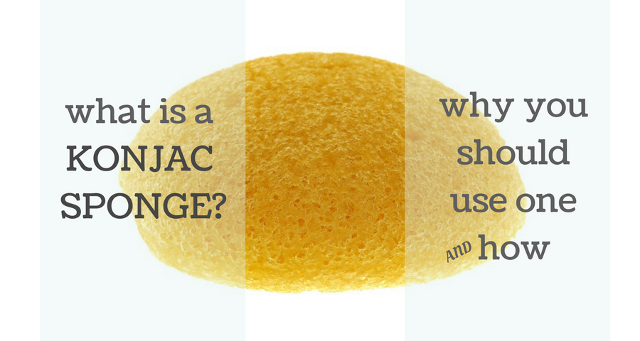 what is a konjac sponge