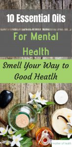 essential oils for mental health