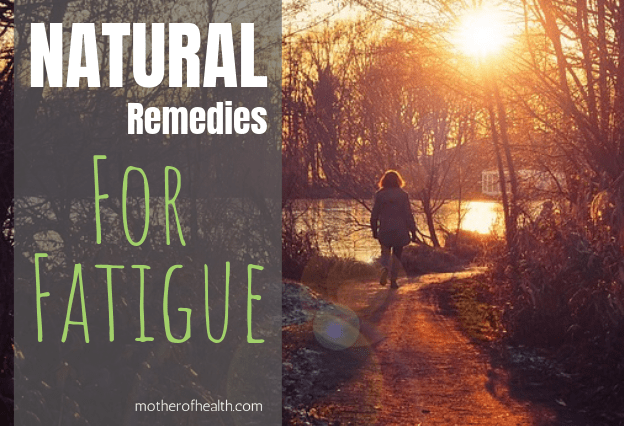natural remedies for fatigue
