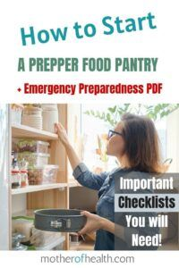 how to start a peppers food pantry