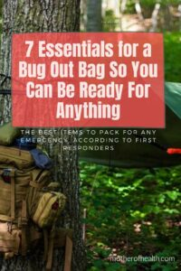 essentials for a bug out bag