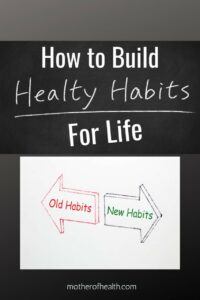 how to build health habits